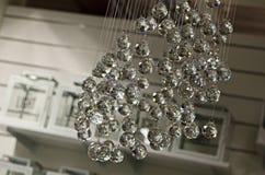 Krystaliczna lampa Fotografia Royalty Free