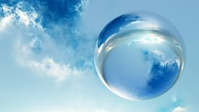 krystaliczna sfera Fotografia Stock
