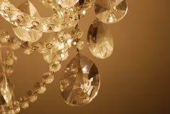 krystaliczne krople Obrazy Stock