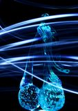 Krystaliczne wiśnie Obraz Stock