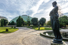 Krystalicznego pałac ogródy Zdjęcie Royalty Free