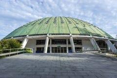 Krystalicznego pałac ogródy Fotografia Stock