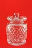 krystalicznego szkła słój Obrazy Royalty Free