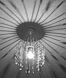 Krystaliczni świeczników cienie Fotografia Royalty Free