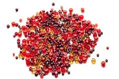 Krystaliczni strasses Zdjęcie Royalty Free