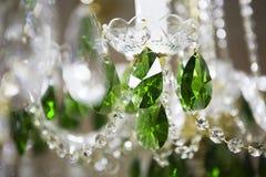 Krystaliczny świecznik obraz stock