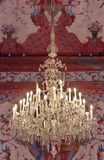 Krystaliczny świecznik Zdjęcie Stock
