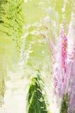 Krystaliczny Abstrakcjonistyczny pałac Obraz Royalty Free