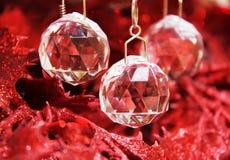 krystaliczny Boże Narodzenie ornament Zdjęcia Stock