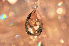 Krystaliczny breloczek Zdjęcia Royalty Free
