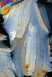 Krystaliczny cukrowy makro- Zdjęcie Stock