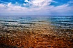 Krystaliczny Czysty jezioro zdjęcie royalty free