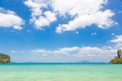 Krystaliczny czysty morze Zdjęcie Royalty Free