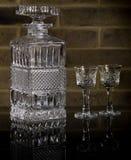 Krystaliczny dekantator Zdjęcie Royalty Free
