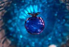 Krystaliczny jabłko zdjęcie royalty free