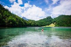 Krystaliczny jezioro, Niemcy Obraz Stock