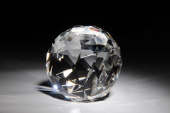 krystaliczny krystalicznego kształta jaśnienie obraz royalty free