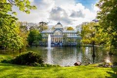 Krystaliczny pałac Zdjęcia Royalty Free