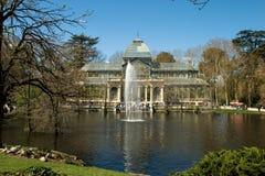 Krystaliczny pałac Obraz Royalty Free