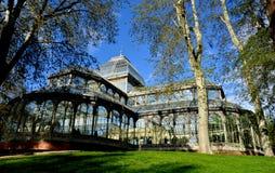 Krystaliczny pałac Obrazy Royalty Free