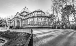Krystaliczny pałac Fotografia Royalty Free