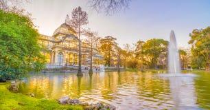 Krystaliczny Pałac jezioro Zdjęcie Royalty Free