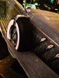 Krystaliczny samochód Zdjęcie Royalty Free