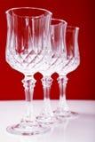 krystaliczny szkło Zdjęcia Stock
