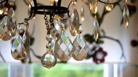 Krystaliczny świecznik Obrazy Royalty Free