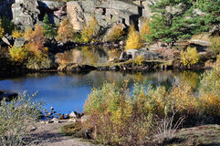 Krystall-lake Royalty Free Stock Photos
