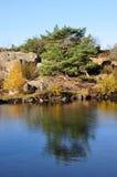 Krystall-lake Stock Image