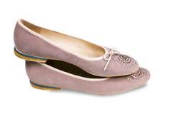 kryształów buty zdjęcia royalty free