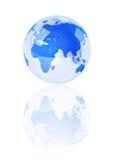 kryształ błękitny ziemia Fotografia Stock