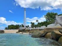 kryształ plażowa jasna woda Zdjęcie Royalty Free