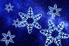 kryształu śnieg Zdjęcie Stock