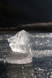kryształu lód obrazy stock