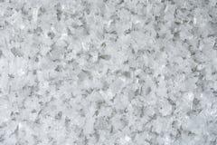Kryształy lód fotografia stock