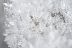 Kryształy lód obrazy stock