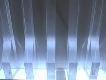 kryształy mlecznoniebieski pośredni światło obrazy royalty free