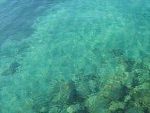Kryształ - jasna woda morska Obrazy Stock