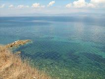 Kryształ - jasna woda morska Fotografia Stock