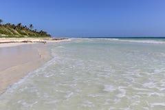 Kryształ - jasny morze karaibskie Obraz Stock
