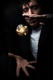 Kryształowa Kula atom Zdjęcie Stock
