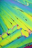 kryształu jaskrawy kolorowy lód Fotografia Royalty Free