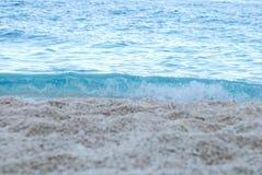 Kryształ woda przy zmierzchem Zdjęcia Royalty Free
