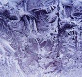 kryształy lodu Zdjęcie Stock