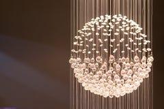 Kryształu światła pokaz Zdjęcie Royalty Free