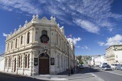 Kryterium hotelu w Oamaru ` s Wiktoriańskiej dzielnicie, Nowa Zelandia zdjęcie royalty free