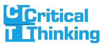 Krytyczni Myślący Błękitni abstraktów lampasy Zdjęcia Royalty Free