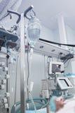 Krytycznie chorzy pacjenci w szpitalnym oddziale fotografia royalty free